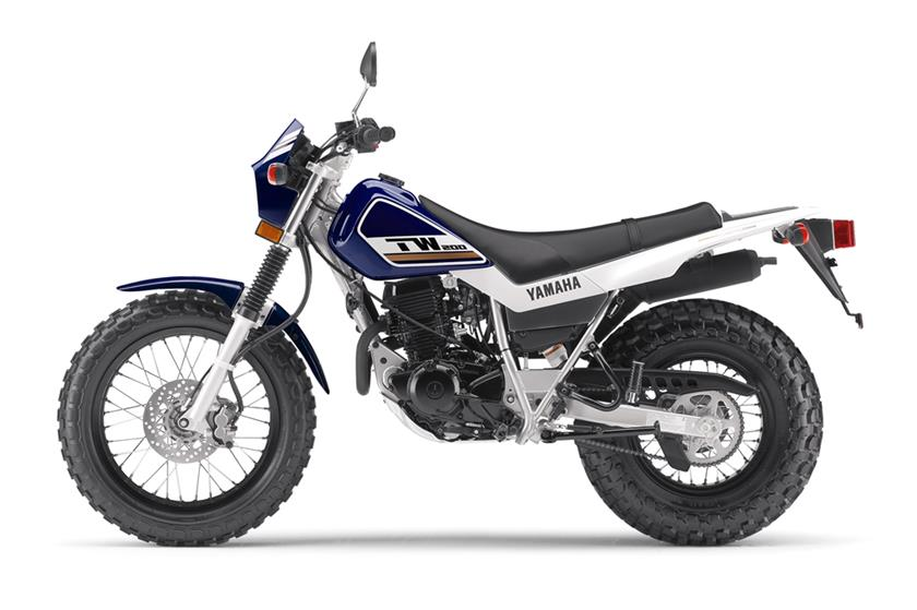 2017 Yamaha TW200 in Tamworth, New Hampshire