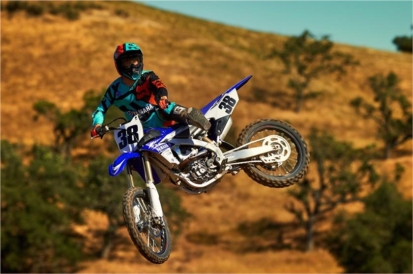 2017 Yamaha YZ250F in Monroe, Washington