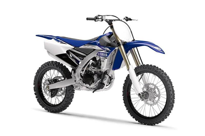 2017 Yamaha YZ250F in Derry, New Hampshire