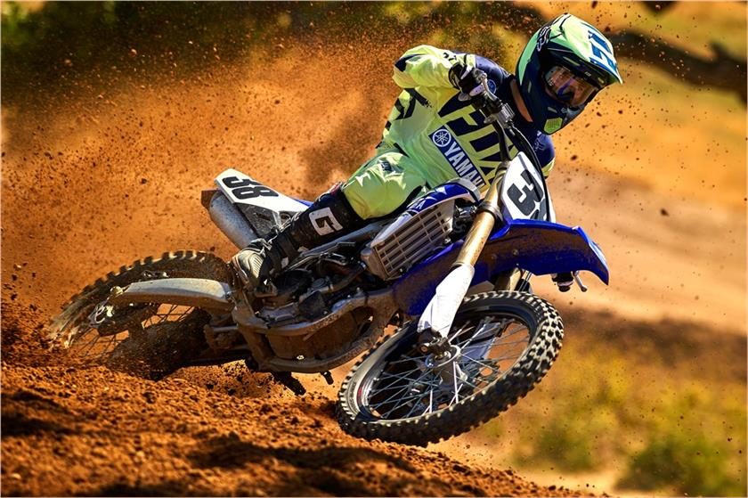 2017 Yamaha YZ250F in Phillipston, Massachusetts