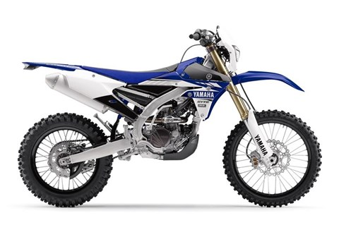 2017 Yamaha WR250F in Baldwin, Michigan