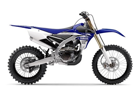 2017 Yamaha YZ250FX in Findlay, Ohio