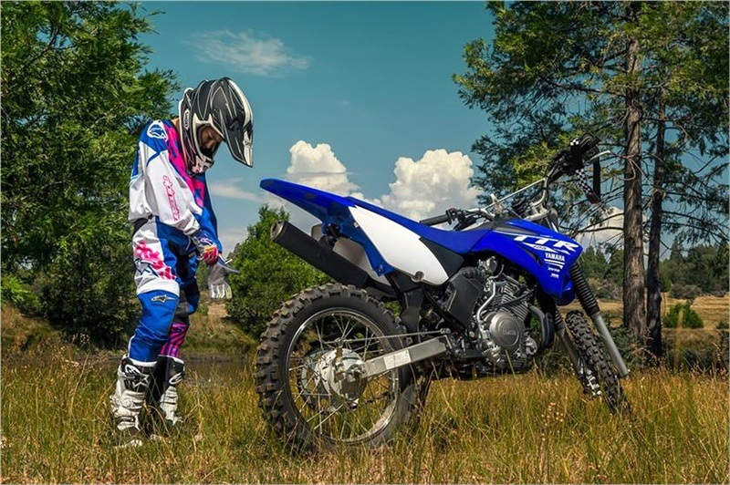 2018 Yamaha TT-R125LE in Phillipston, Massachusetts
