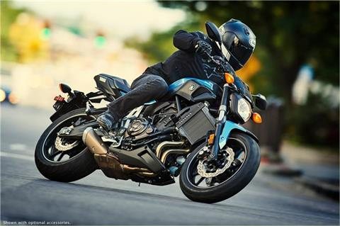 2017 Yamaha FZ-07 in Hendersonville, North Carolina