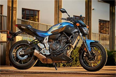 2017 Yamaha FZ-07 in Goleta, California