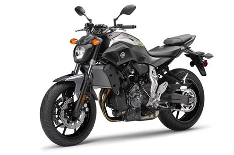2017 Yamaha FZ-07 in Asheville, North Carolina