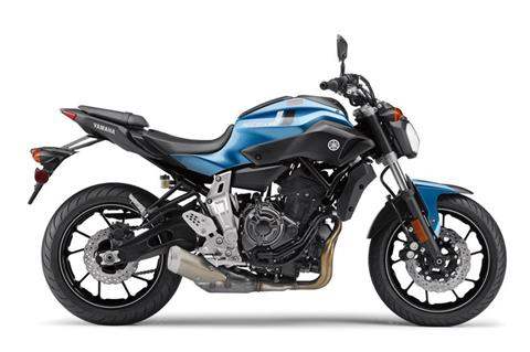 2017 Yamaha FZ-07 in Concord, New Hampshire