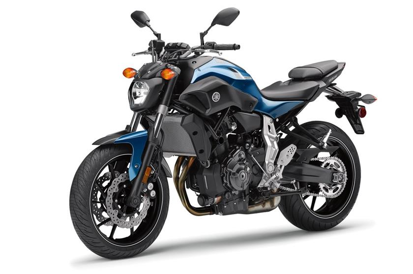2017 Yamaha FZ-07 in Phillipston, Massachusetts
