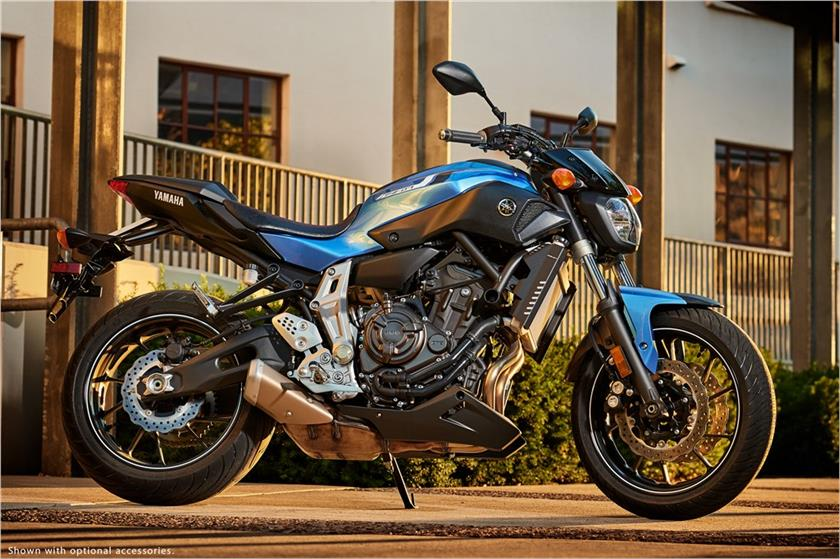 2017 Yamaha FZ-07 in Chesterfield, Missouri