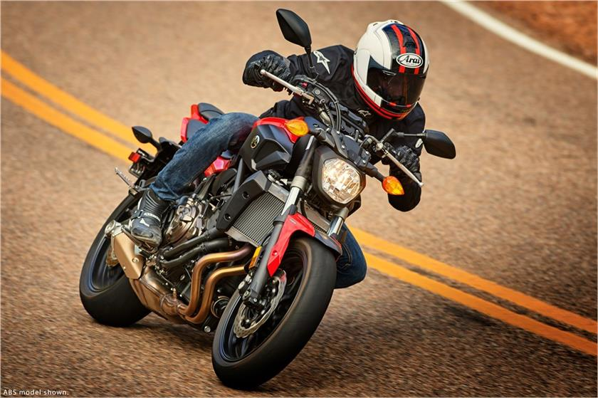 2017 Yamaha FZ-07 ABS in Lowell, North Carolina