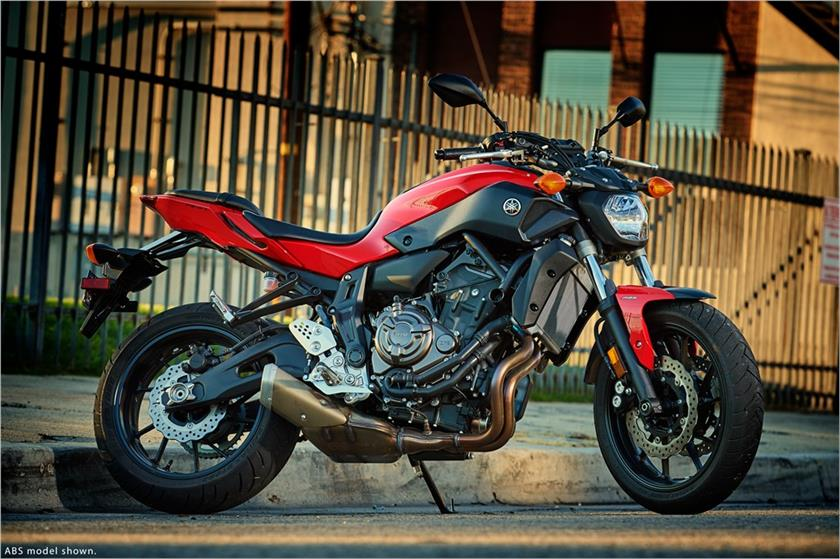 2017 Yamaha FZ-07 ABS in Murrieta, California