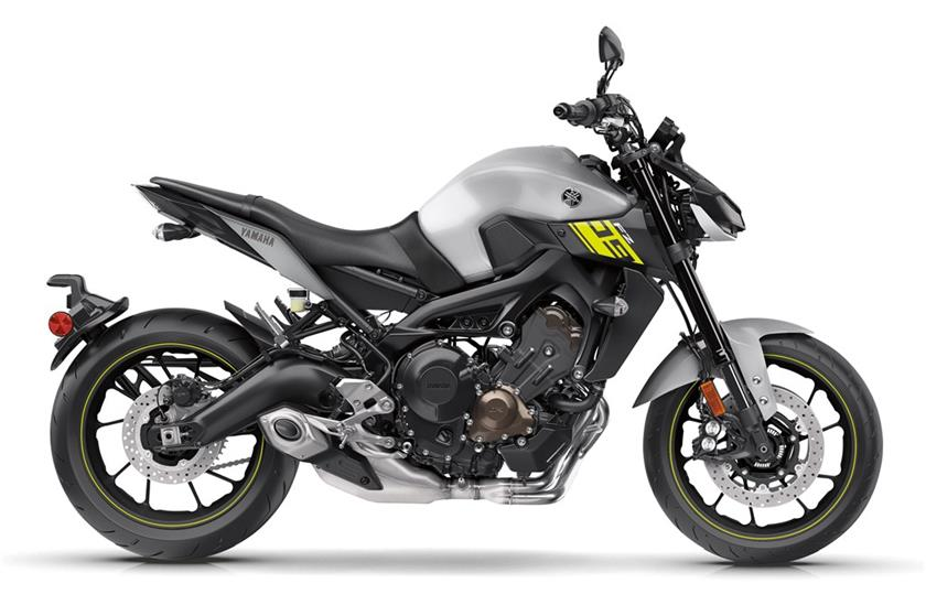 2017 Yamaha FZ-09 in Fairfield, Illinois