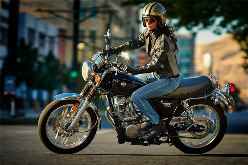 2017 Yamaha SR400 in Berkeley, California