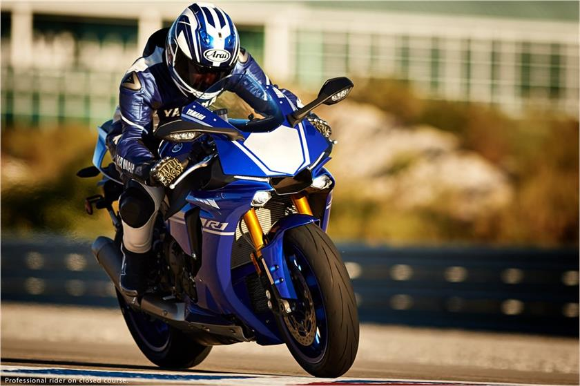2017 Yamaha YZF-R1 in Tamworth, New Hampshire