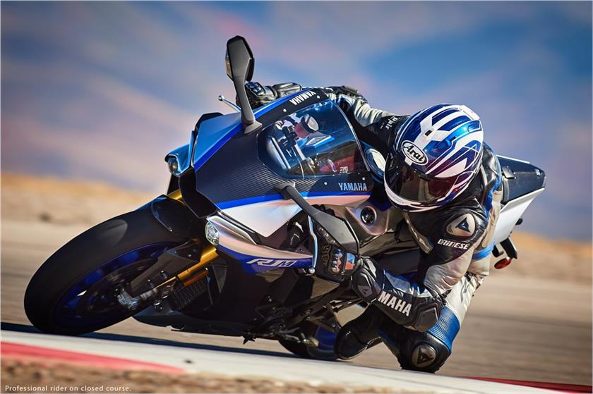 2017 Yamaha YZF-R1M in Colorado Springs, Colorado