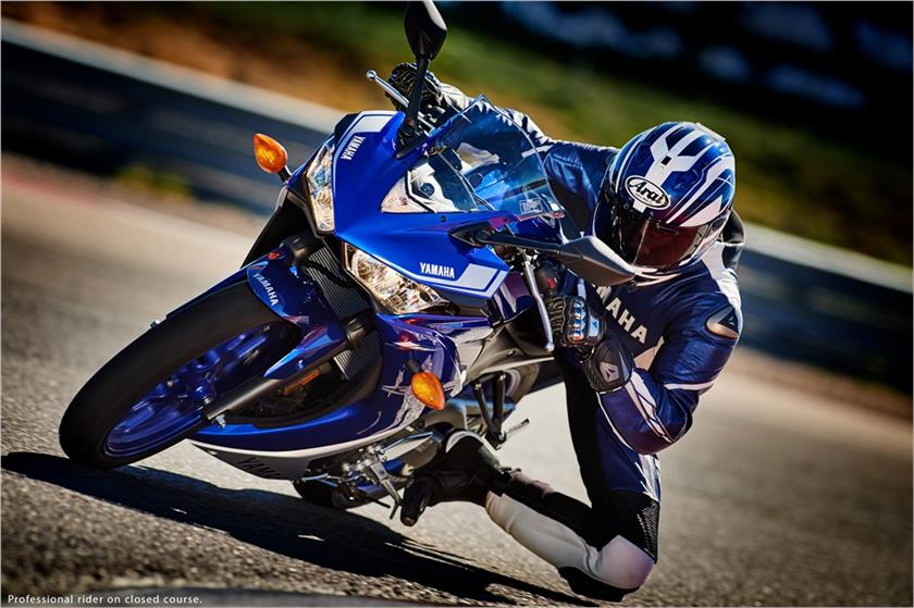 2017 Yamaha YZF-R3 in Lowell, North Carolina