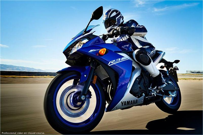 2017 Yamaha YZF-R3 in Pine Grove, Pennsylvania