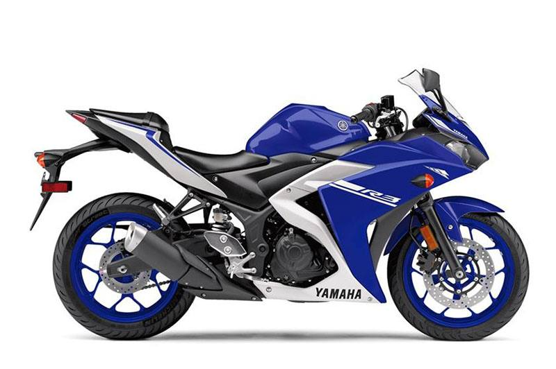 New 2017 yamaha yzf r3 motorcycles in stillwater ok for Yamaha of stillwater