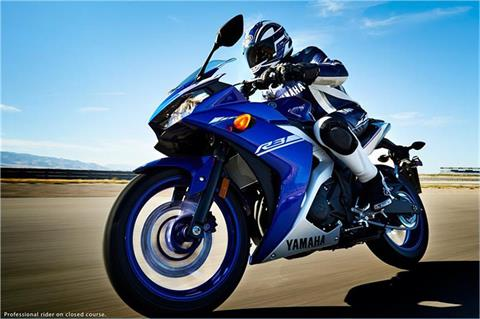 2017 Yamaha YZF-R3 ABS in Berkeley, California