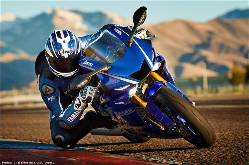 2017 Yamaha YZF-R6 in Goleta, California