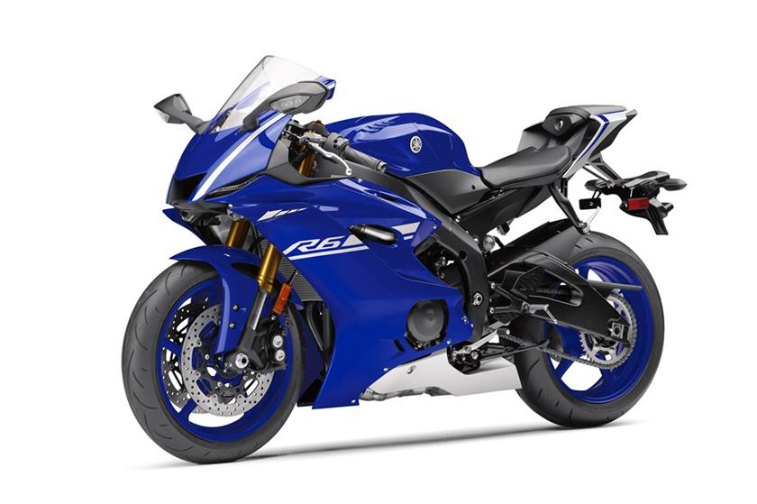 2017 Yamaha YZF-R6 in Weirton, West Virginia