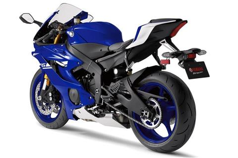 2017 Yamaha YZF-R6 in Massillon, Ohio