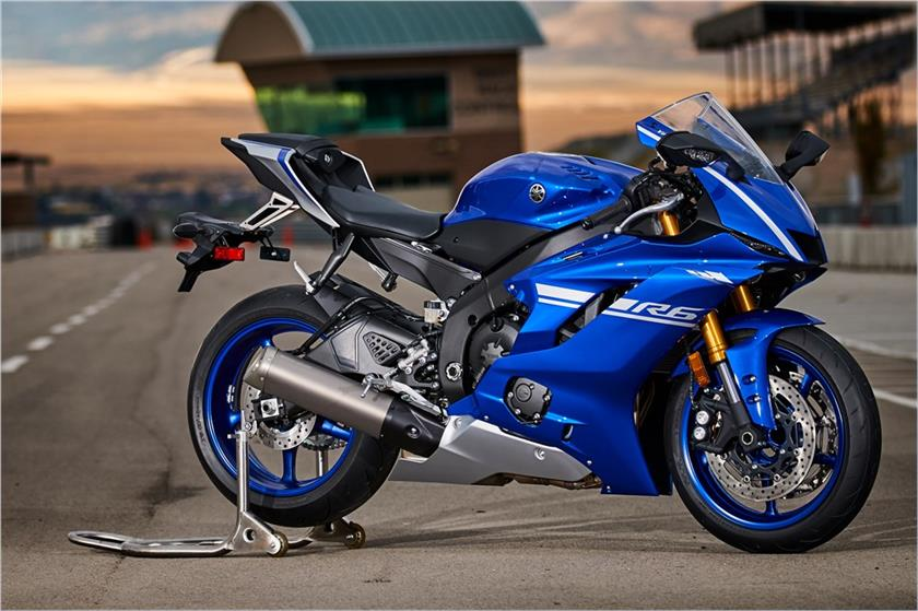 2017 Yamaha YZF-R6 in New Castle, Pennsylvania