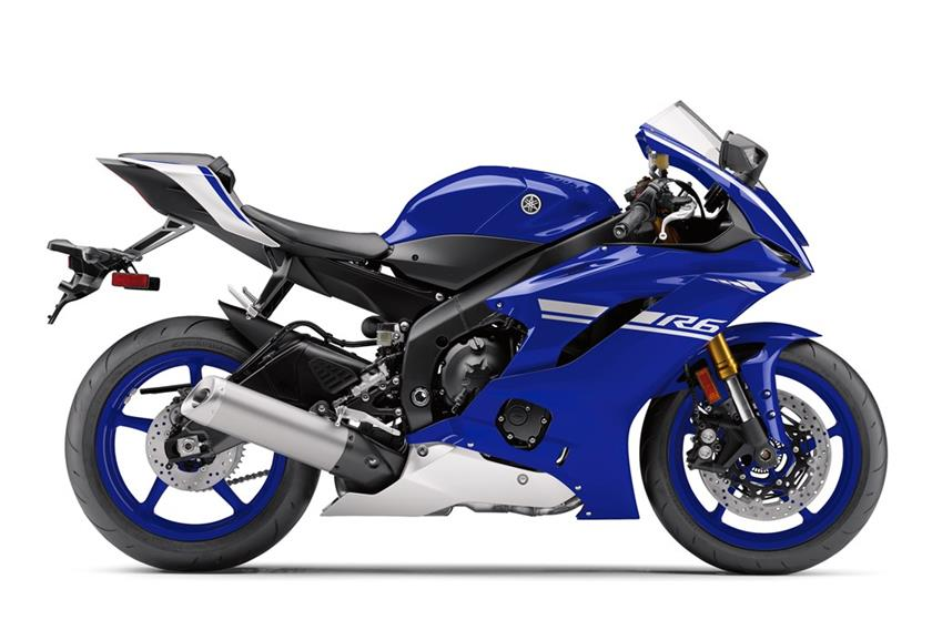 2017 Yamaha YZF-R6 in San Jose, California
