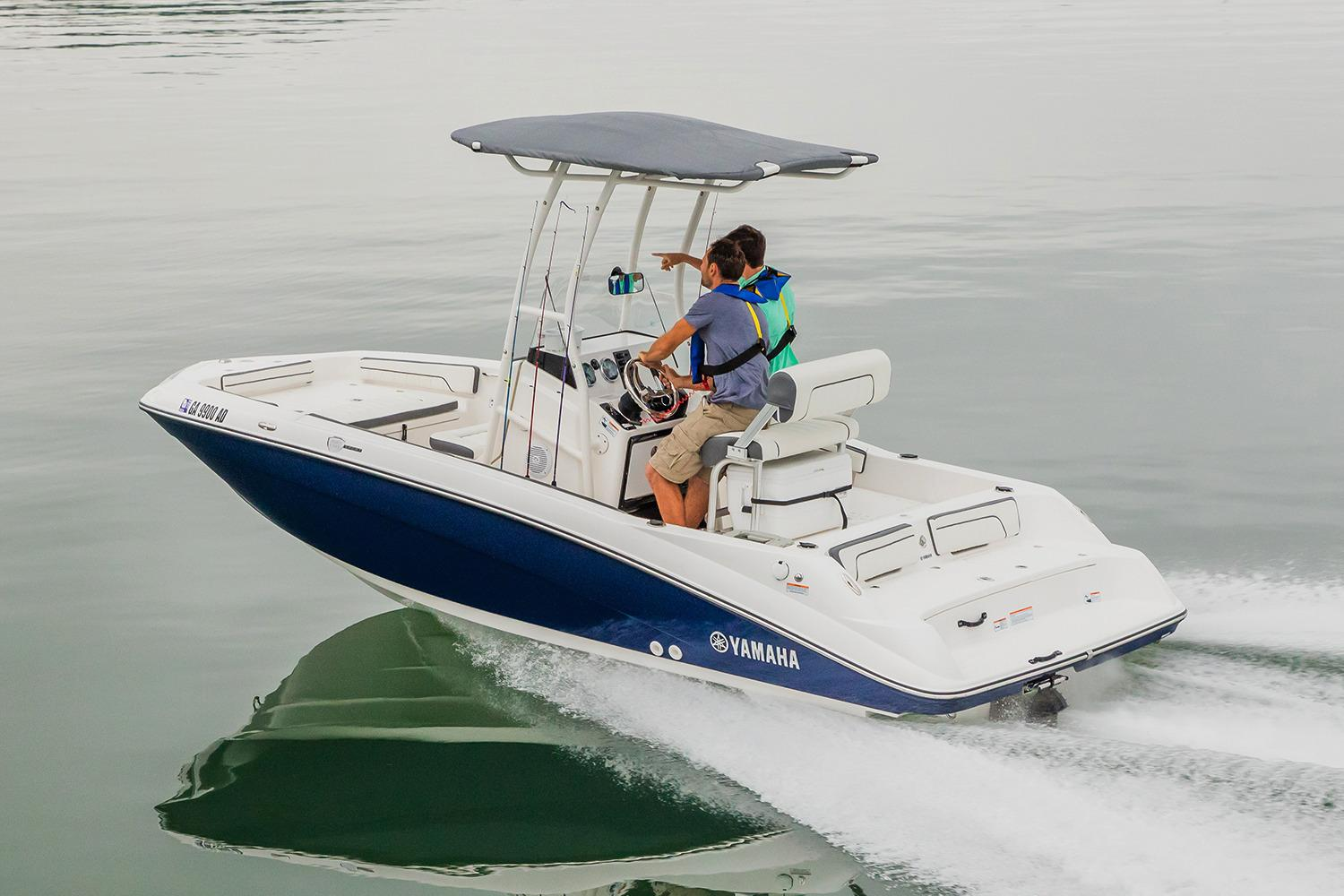 2017 Yamaha 190 FSH Sport in Hampton Bays, New York