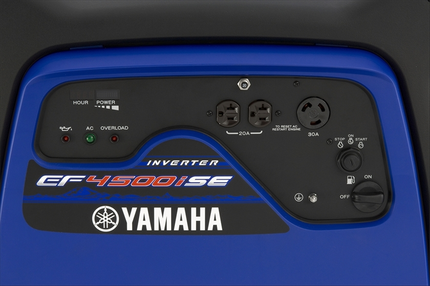 2017 Yamaha EF4500iSE in Mineola, New York