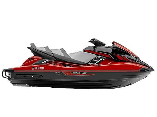 2017 Yamaha FX Cruiser SVHO in Coloma, Michigan