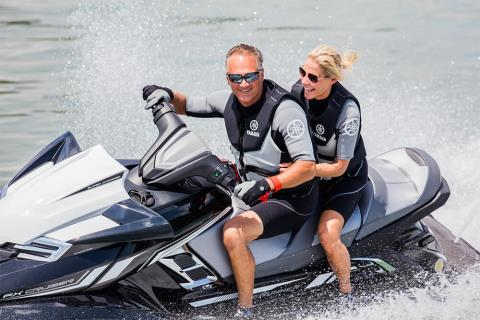 2017 Yamaha FX Cruiser SVHO in Hampton Bays, New York