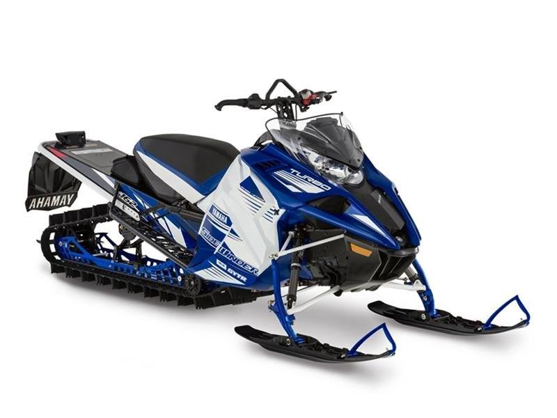 2017 Yamaha Sidewinder M-TX SE 162 in Tamworth, New Hampshire