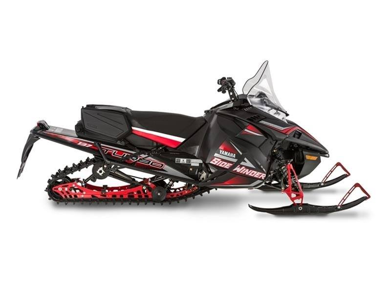 2017 Yamaha Sidewinder S-TX DX 137 in Phillipston, Massachusetts