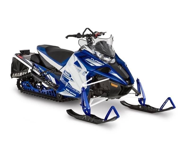 White / Yamaha Blue