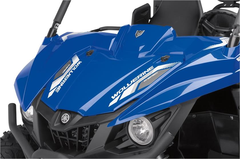 2017 Yamaha Wolverine R-Spec EPS in Richardson, Texas