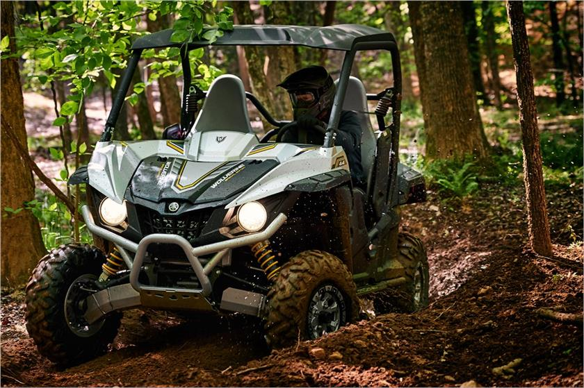2017 Yamaha Wolverine R-Spec EPS SE in Rock Falls, Illinois