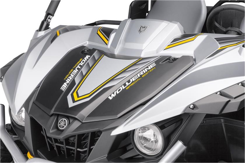 2017 Yamaha Wolverine R-Spec EPS SE in Long Island City, New York