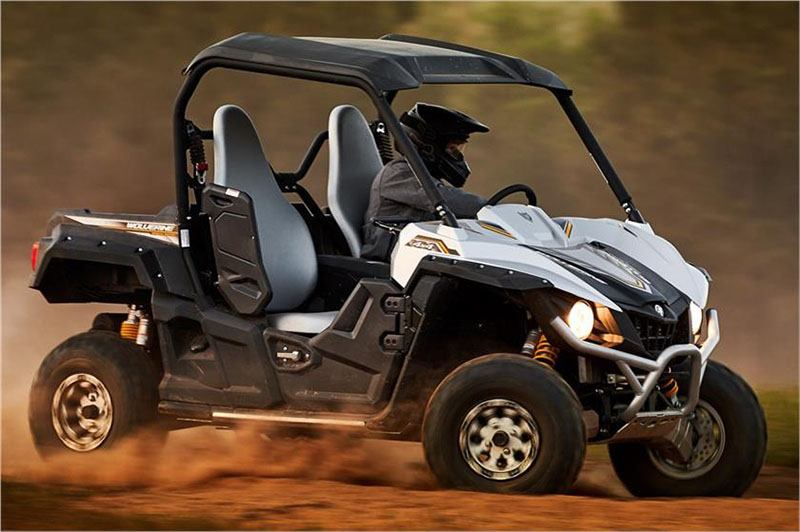 2017 Yamaha Wolverine R-Spec EPS SE in Coloma, Michigan