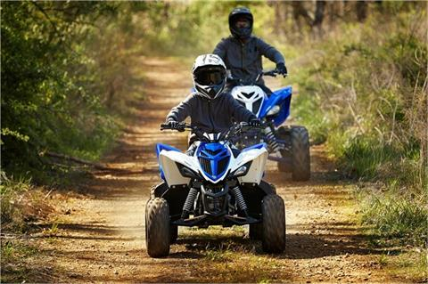 2018 Yamaha Raptor 90 in Lowell, North Carolina
