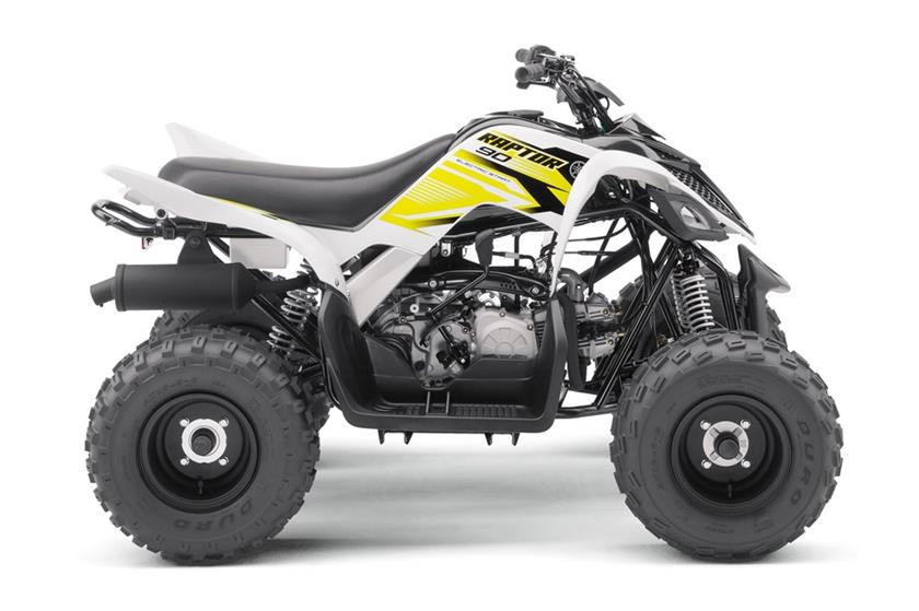 2018 Yamaha Raptor 90 in Tyrone, Pennsylvania