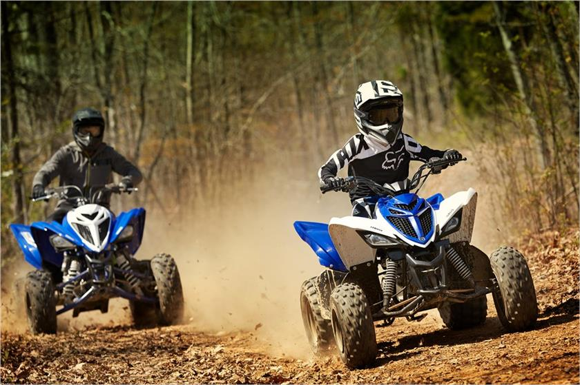 2018 Yamaha Raptor 90 in Delano, Minnesota