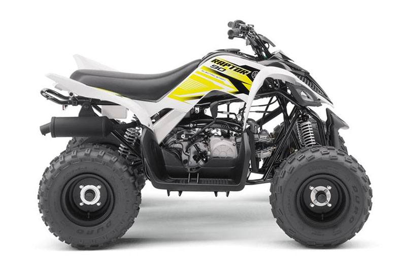 2018 Yamaha Raptor 90 in Merced, California