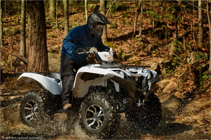 2018 Yamaha Grizzly EPS in Miami, Florida