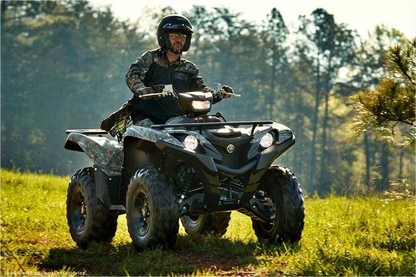 2018 Yamaha Grizzly EPS in Tamworth, New Hampshire