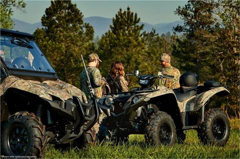 2018 Yamaha Grizzly EPS in Greenville, North Carolina