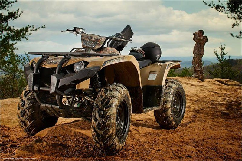2018 Yamaha Kodiak 450 EPS in Olympia, Washington