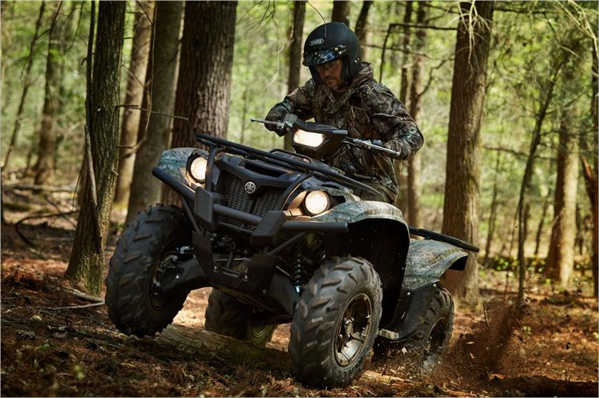2018 Yamaha Kodiak 700 EPS in Coloma, Michigan