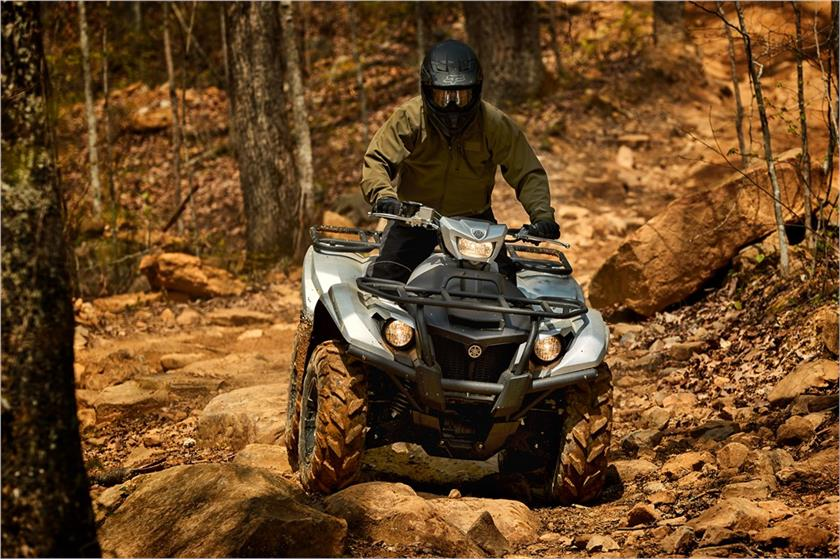 2018 Yamaha Kodiak 700 EPS SE in Phillipston, Massachusetts