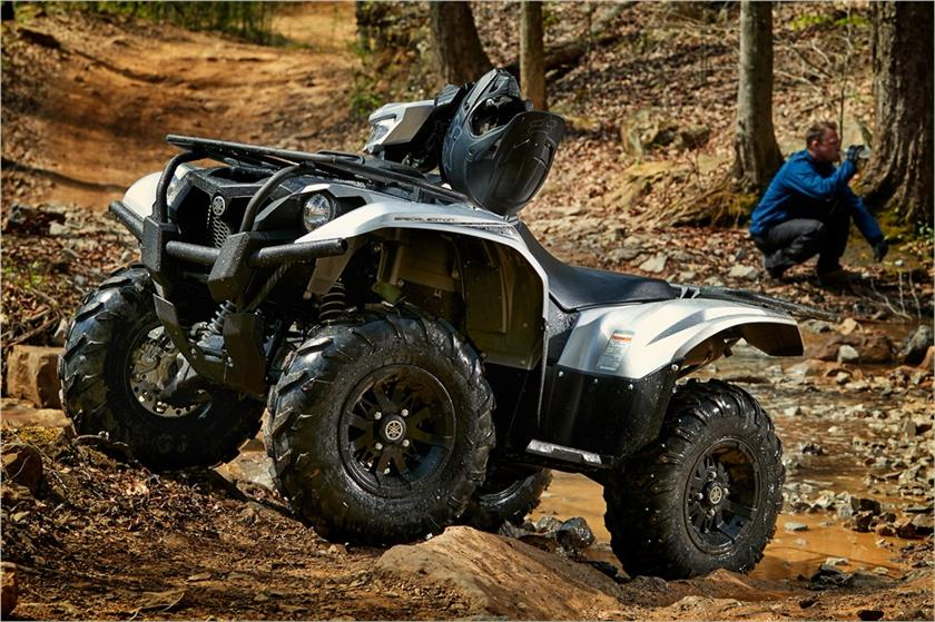 2018 Yamaha Kodiak 700 EPS SE in Fairfield, Illinois